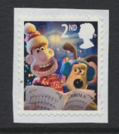 Great Britain SG 3128 Used   Christmas 2010 Wallace and Gromit SC# 2849a