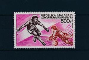 [43634] Madagascar Malagasy 1973 Sports World Cup Soccer Football  MNH