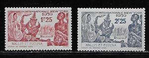 Wallis & Futuna Islands 90-1 1939 New York Worlds Fair Set NH