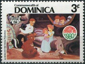 Dominica 1980. Wendy, John and Michael (MNH OG) Stamp