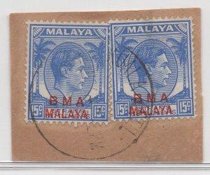 Malaya BMA - 1945 - SG 12 - Fine Used (Kuala Ketil #1 Cancellation)