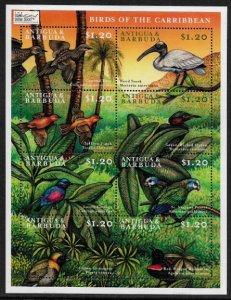 Antigua #2309-10 MNH Sheets - Birds