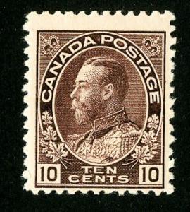 Canada Stamps # 116 F-VF OG NH Scott Value $675.00