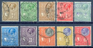 Malta Sc# 167-176 Used 1930 Definitives