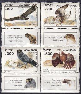 Israel #896-9  MNH With Tabs  CV $5.50  (SU7700)
