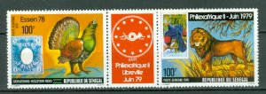 SENEGAL BIRDS... STRIP #C147a...MNH...$10.00
