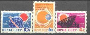 Russia 2839-41 MNH Space(Sun year) SCV1.10