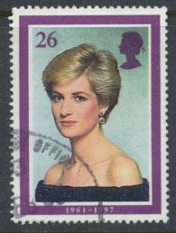 Great Britain SG 2025 Used    - Diana Princess of Wales