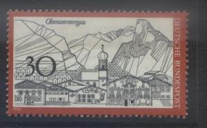 GERMANY. -Scott 1049 -Oberammergau - 1970- MNH - Single 30pf Stamp