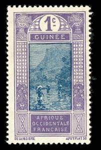 French Guinea 63 Unused (MH)