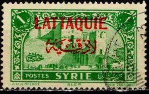 Syria - Latakia; 1933: Sc. # 9; O/Used Single Stamp