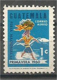GUATEMALA, 1963, used 1c, Spring Fair. Scott C270