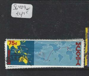 MALAYSIA   (P1404BB)  MAP   SG 42-3  VFU