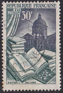 France 712 USED 1954 Book Manufacture