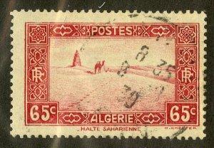 ALGERIA 91 USED SCV $4.00 BIN $1.75 PLACE