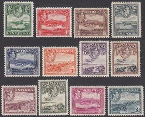 Antigua 84-95, SG98-109 MVLH / MH (see Details) CV $71.30