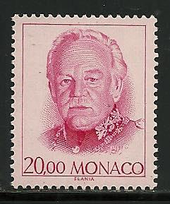 Monaco # 1673A, Mint Never Hinge