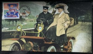 H&M 3182A Model T Ford Woman in Automobile