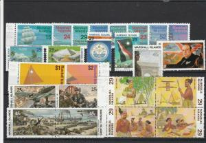Marshall Islands Mint Never Hinged Stamps Ref 26219