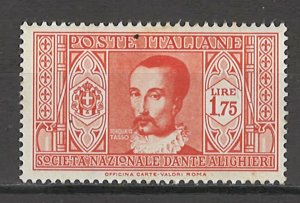 COLLECTION LOT # 4318 ITALY #276 MH 1934 CV+$12