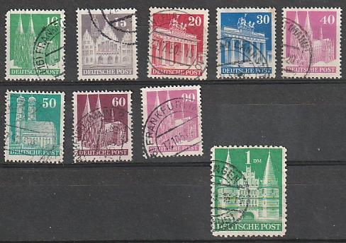 #641a-57a Germany Used Perf 14 Incomplete