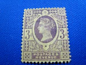 GREAT BRITAIN - SCOTT # 115  - MH