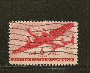 USA C25 Airmail Used