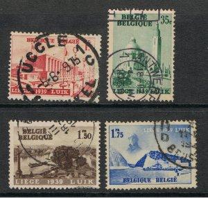 BELGIUM 1938 INTERNATIONAL WATER EXHIBITION
