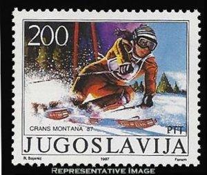 Yugoslavia Scott 1837 Mint never hinged.