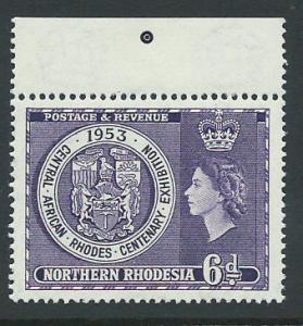 Northern Rhodesia  SG 59 MUH