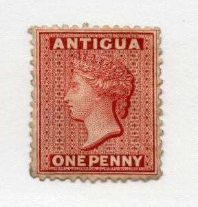 Antigua - SG# 13 mM no gum/ Perf 12 1/2/ wmk crown CC/ Signed / Lot 419_0916158