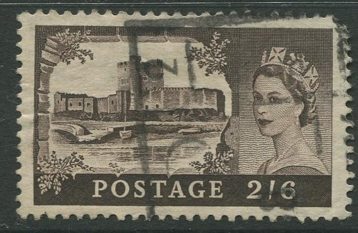 STAMP STATION PERTH Great Britain #309 QEII Castle Definitive Used CV$1.50.