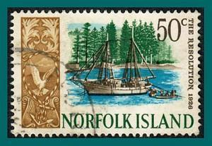 Norfolk Island 1968 Ships (series 4), 50c used  #112,SG89