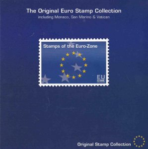 Euro Collection - In folio F-VF Mint NH ** First stamps in Euro currency