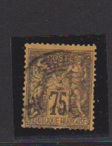 FRANCE #102 STAMP USED  - LOT#F8