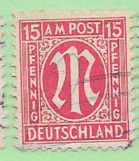 Germany # 3N9 15pf (U) CV3.00