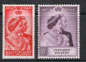 PITCAIRN ISLANDS 1949 SILVER WEDDING ANNIVERSARY