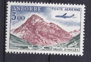 Andorra-French C6 MNH 1961 D'Incles Valley