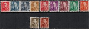 Norway SC 360-369 MNH 1958-1960 SCV$ 41.00 Set