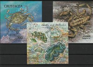 tanzania stamps ref r9666