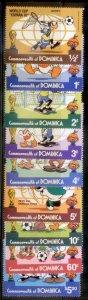 Dominica  Disney SC# 744-52  MNH CH1