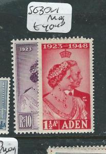 ADEN (P0408B) KGVI   SILVER WEDDING SG30-1  MOG