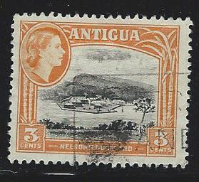 Antigua   USED SC 139