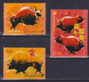 Singapore 2009 Chinese New Year - Year of the Ox  (MNH)  -