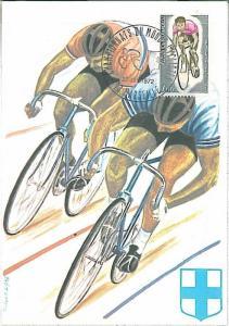 SPORT \ CYCLING :  MAXIMUM CARD  - FRANCE 1972