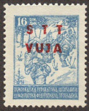Yugoslavia - Trieste #13 MH single