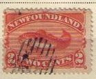 Newfoundland Sc 48 Red Org (1887) Used VF