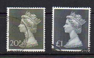 Great Britain MH166,169,170 Used