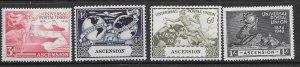 ASCENSION SG52/5 1948 U.P.U. MTD MINT
