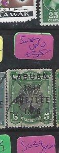 LABUAN  (P1910B)  JUBILEE  BIRD   5C SG 87   VFU